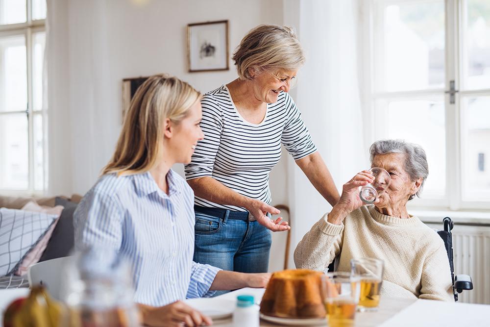 Personne âgée et aidants