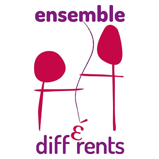logo ensemble et different