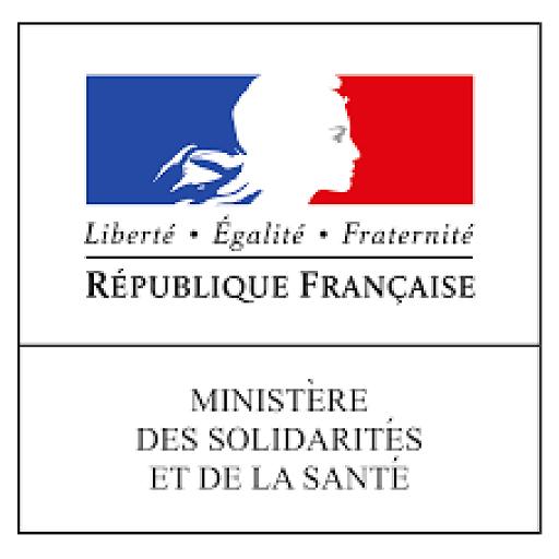 Logo ministère des solidarité et de la santé