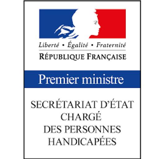 logo secrétariat d'état chargé des personnes handicapées