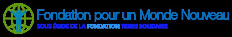 logo fondation pour un monde nouveau